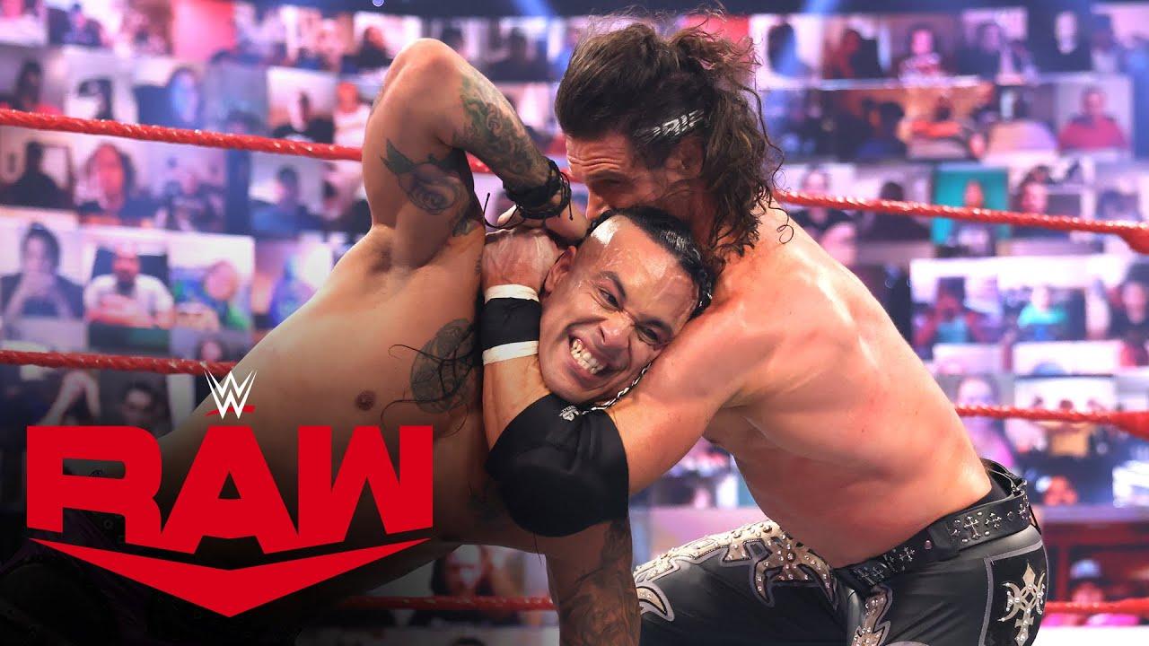 Damian Priest vs. John Morrison: Raw, May 10, 2021