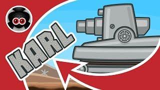 Атака Стальных Монстров #1: КАРЛ | Мультики про танки