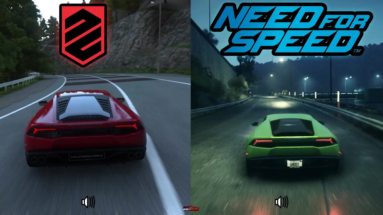 need for speed 2015 vs driveclub ps4 graphics 458 570s. Black Bedroom Furniture Sets. Home Design Ideas