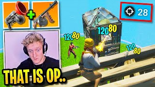 Tfue's Duo Uses Most *OVERPOWERED* Combo in Season 2 (Fortnite)