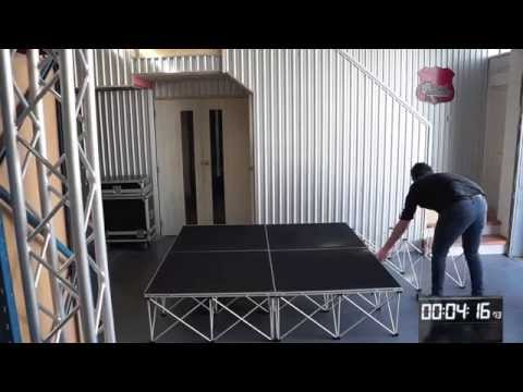 Intellistage portable stage system
