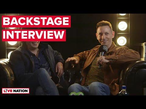 James Iha & Jimmy Chamberlin (The Smashing Pumpkins) - Backstage Interview