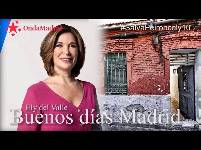 #SalvaPeironcely10 en Buenos días de Telemadrid