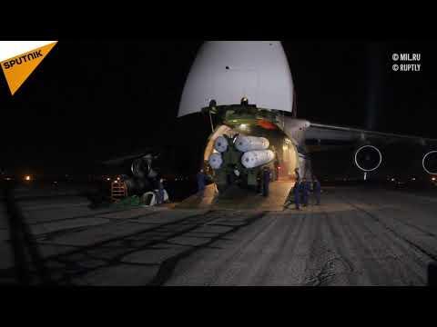 La livraison de S-300 en Syrie en vidéo