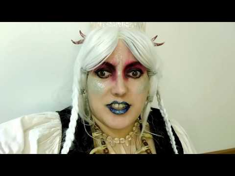 KrampusLauf Frau Perchta Makeup Breakdown