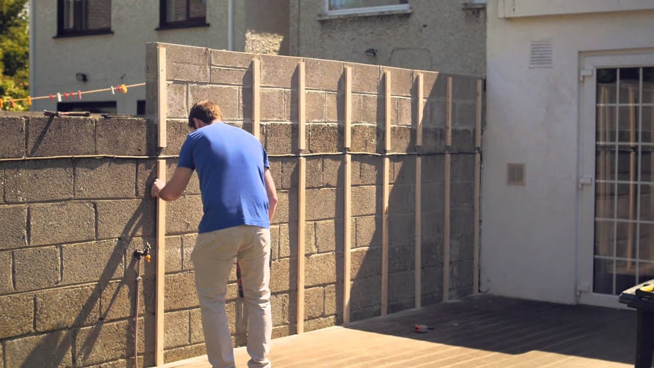Celuplast Garden Wall Cladding - YouTube