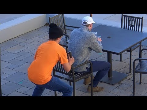 Chair Pulling Prank Part 16