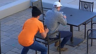 Chair Pulling Prank Part 16