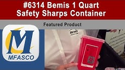 Safety Sharps Container from Bemis 1 Quart  | Item #6314