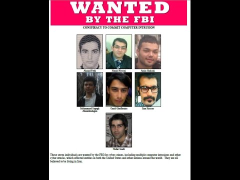United Staes accuse 7  Iranians of hacking American sites !