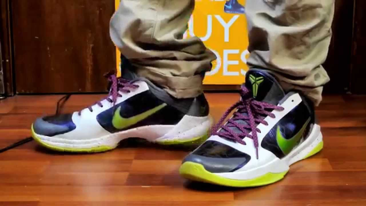 purchase cheap c5e62 9f9c7  TBT Nike Zoom Kobe V (5) -