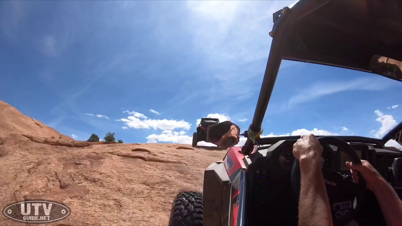 Tackling Where Eagles Dare Trail in Moab in our Polaris RZR XP4 Turbo S