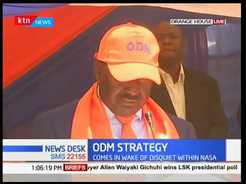 Raila Odinga: Coalitions are formed either to win elections or to form governments then dissolved