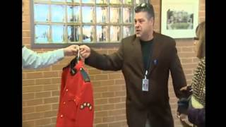 Emotional Pot-smoking  Mountie has uniform seized by RCMP