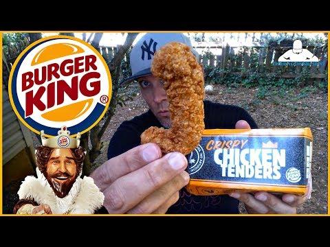 Burger King®   Crispy Chicken Tenders Review! 🐔💯
