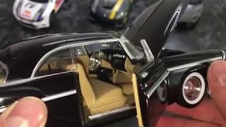 Chrysler C300 1955 Unboxing.Розпакування та огляд.Motormax.1/24 модель.