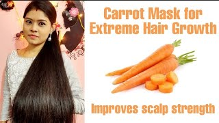 DIY Deep Conditioning Carrot Mask in Tamil | Best for Dry & Frizzy Hair | Repairs Damaged Hair