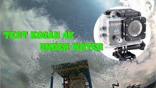 Kogan 4K Wifi Under Water Test