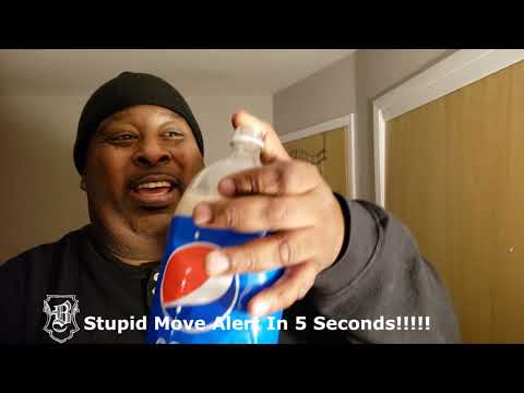 2 Liter Milk & Pepsi Chug That Doesn't Quite Go As Planned!