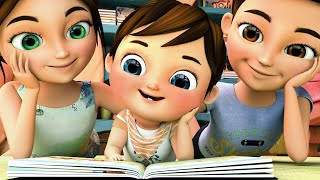 Reading Song   Storytime for Kids   Kids Pretend Play + Nursery Rhymes - Super JoJo   Banana Cartoon