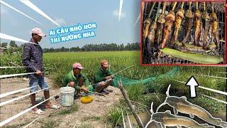 Trúng Mánh • Anh Em Hốt Ổ Cá Trê Vàng Và Nướng Ăn Tại Chỗ   Bông Lúa Đồng Tháp