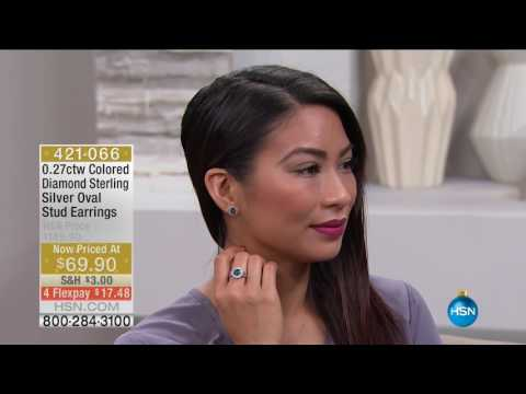 HSN | Colors Of Diamonds Jewelry 10.17.2016 - 02 AM