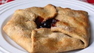 Cherry Folditup Tart - Cherry Galette -free-form  Cherry Pie Recipe