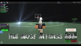 THE MOST INTENSE BASKETBALL 1V1 ON ROBLOX