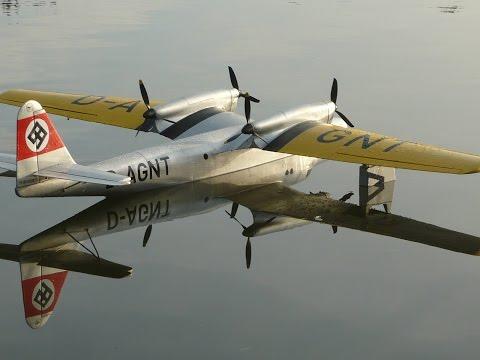 Dornier Do 26 06.09 RC seaplane