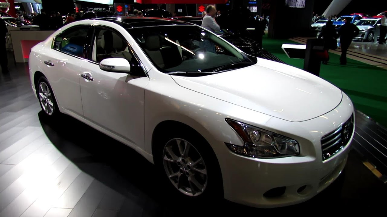 2013 nissan maxima 3 5 sv exterior and interior. Black Bedroom Furniture Sets. Home Design Ideas