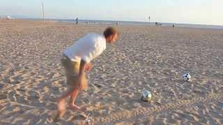 Бекхем показал как надо играть в футбол