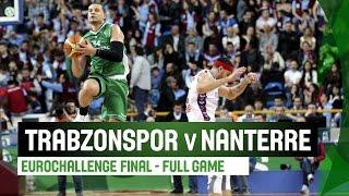 Trabzonspor Medical Park (TUR) v JSF Nanterre (FRA) - Full Game - Final - 2014-15 EuroChallenge