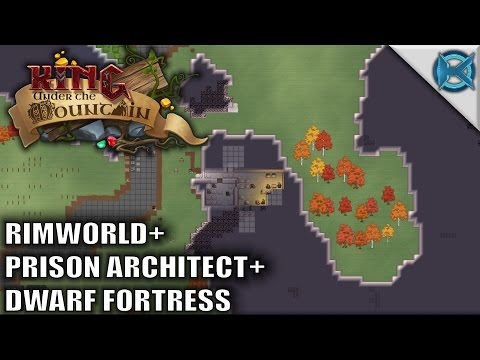 King under the Mountain Game | Dwarf Fortress + Prison Architect + Rimworld | Early Prototype Build