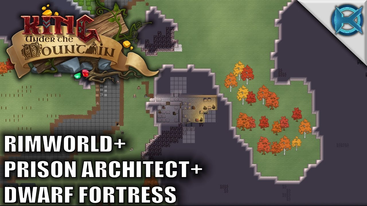 king under the mountain game dwarf fortress prison architect