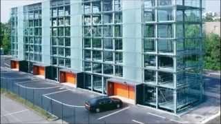 מבנה חניה אוטומטי חיצוני ל 124 רכבים בגרמניה - פרומוט מתקני חניה