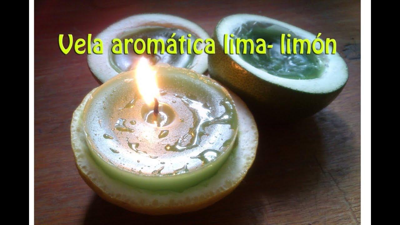 Hazlo tu mism diy 9 como hacer velas arom ticas lima - Como hacer velas ...