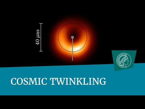 Cosmic twinkling