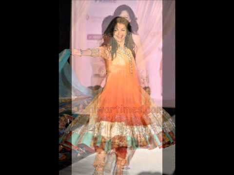 Designer Salwars at C P P A Fashion Show 2011