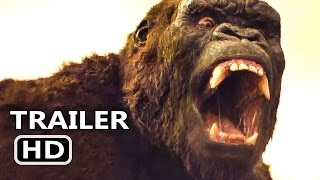 KING KONG Skull Island Official Trailer (2017) Tom Hiddleston Sci-Fi Action Movie HD