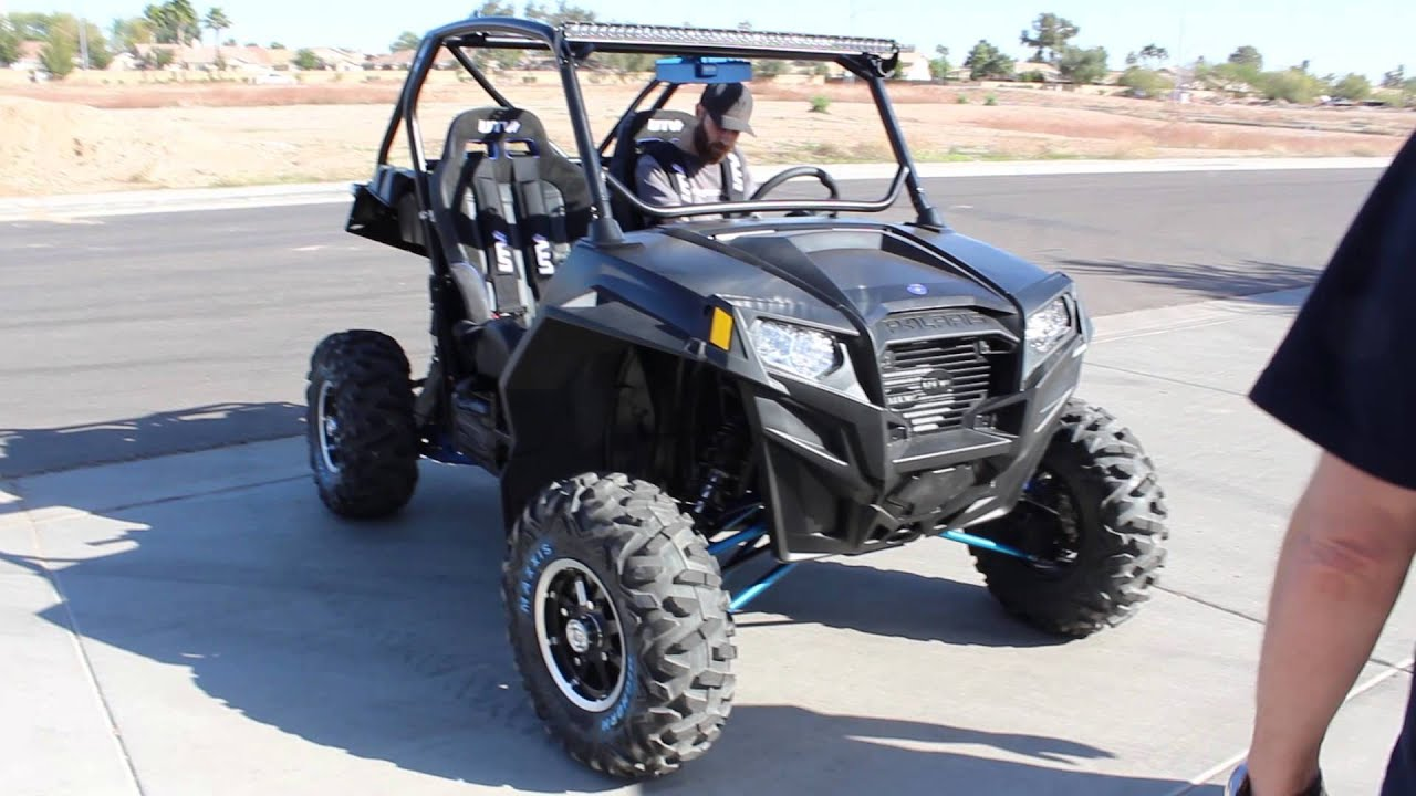 Greg Biffle Test Drives Utv Inc Apex Turbo Polaris Rzr Xp