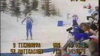 1988 Olympics Cross Country Women's 5km
