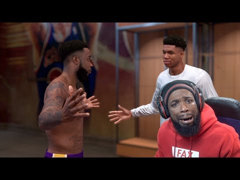 Giannis Came To My House To Call Me Out For Basketball 1v1! NBA 2K19 MyCareer Ep 51
