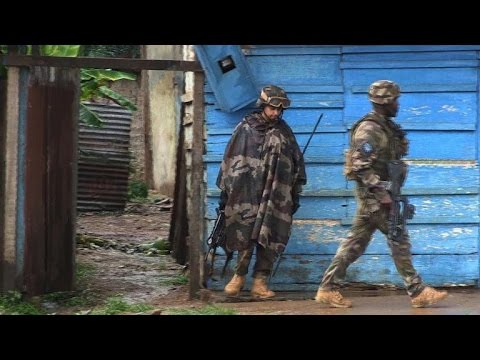French troops patrol C. African Republic capital