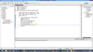 Java Tutorial 17: Hello ACM Graphics (EASY)!