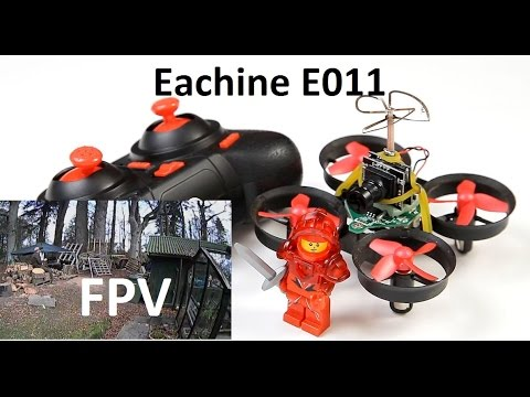 Eachine E011 Best Value Tiny Whoop mini inducted fan quad FPV Mod Compare to E010 Full Review