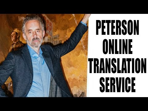 ENOUGH with the Jordan Peterson Online Translation Service