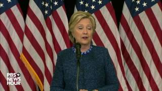 Hillary Clinton addresses FBI email investigation