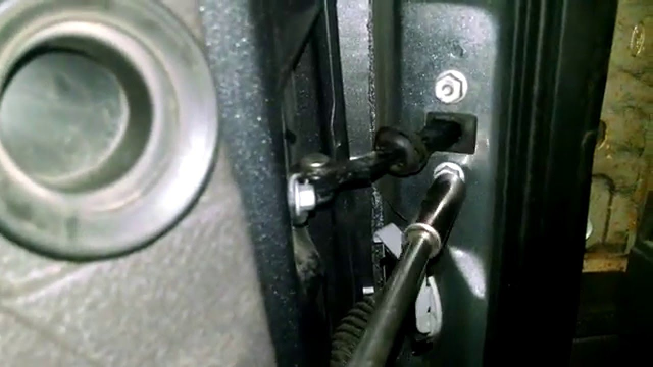 Ford F150 door check assemblydoor arm 09,10,11,12,13,14  YouTube