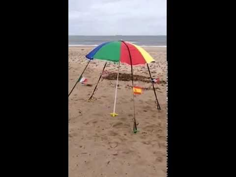 The Best Parasol Beach Anchor Ever