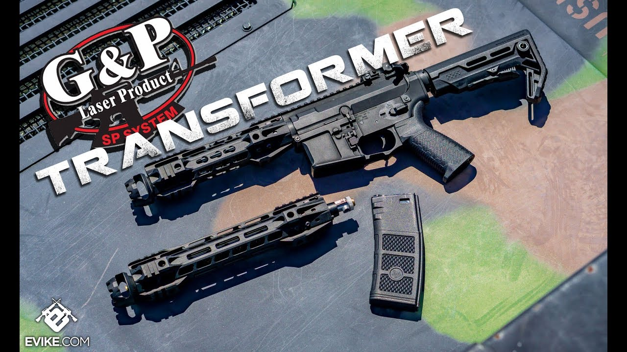 G&P Transformer Compact M4 - Patented QD Front Assembly ...